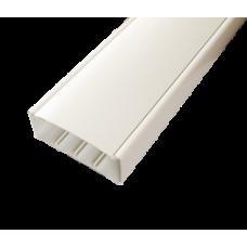Кабельный канал с крышкой 130х50х2000мм (белый)