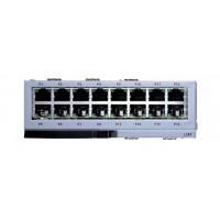 Плата LIM, 16 интерфейсов Ethernet10/100 для OfficeServ7200, 7400