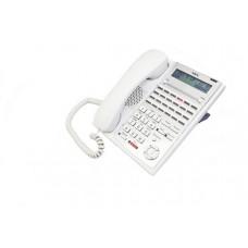 Системный IP телефон NEC 24TXH-A для АТС NEC SL1000, белый