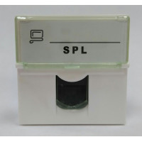 Розетка информационная UTP 1хRG45 45х45 cat5е