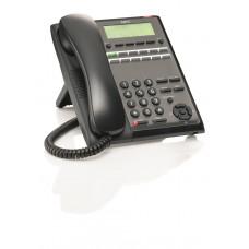 Системный телефон IP7WW-12TXH-A1 TEL(BK) для АТС NEC SL2100, 12 DSS клавиш, чёрный